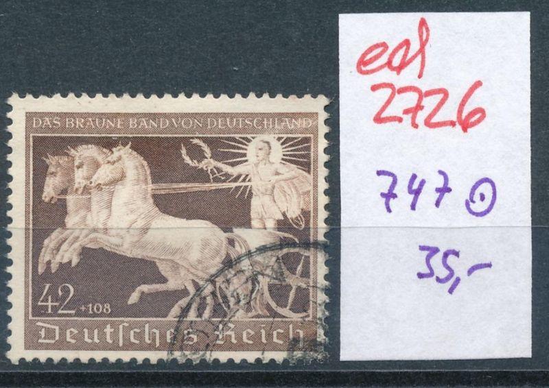 D.-Reich Nr. 747   (ed2726  ) siehe scan