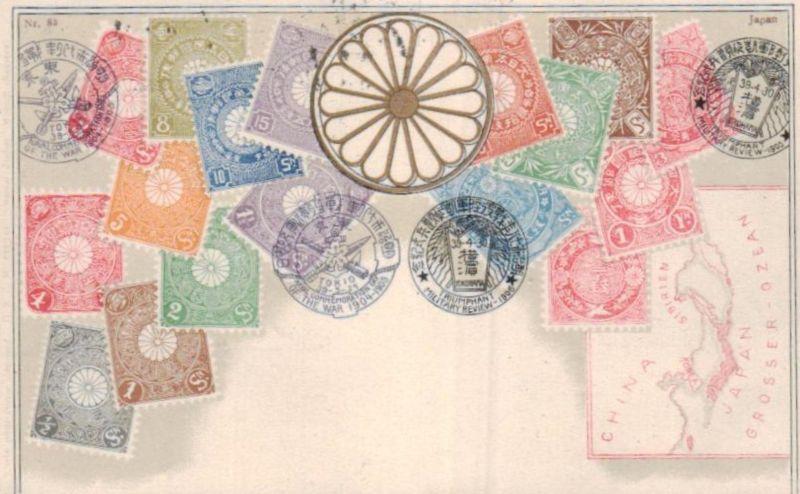 Briefmarken.... .-nette alte Karte   (ka8521  ) siehe scan