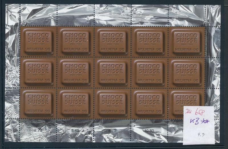 Schweiz KB  Schokolade  **   (zu658  ) siehe scan