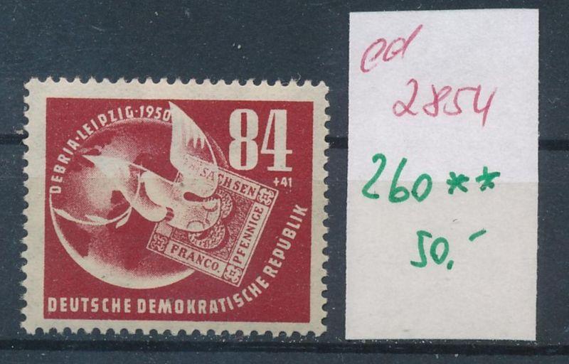 DDR Nr. 260  **     (ed2854 ) siehe scan