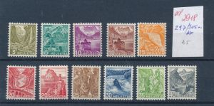 Schweiz   Nr. 297-305...   **    (ed2918  ) siehe scan