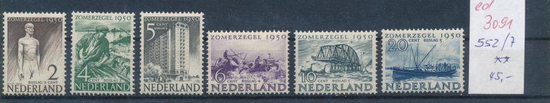 Niederlande Nr. 552-7  **   (ed3091  ) siehe scan