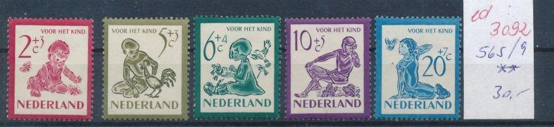 Niederlande Nr. 565-9  **   (ed3092  ) siehe scan