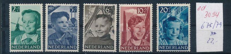 Niederlande Nr. 675-9   **   (ed3094  ) siehe scan