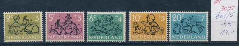 Niederlande Nr. 601-5   **   (ed3095  ) siehe scan