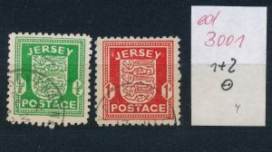 Jersey   Nr. 1+2  o   (ed3001  ) siehe scan