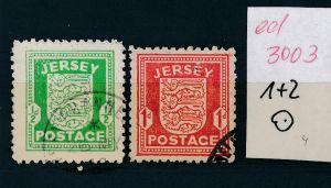 Jersey   Nr. 1+2  o   (ed3003  ) siehe scan