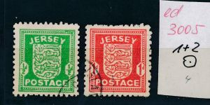 Jersey   Nr. 1+2  o   (ed3005  ) siehe scan