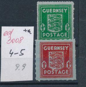 Guernsey    Nr. 4-5   (ed3008  ) siehe scan