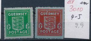 Guernsey    Nr. 4-5   (ed3010  ) siehe scan