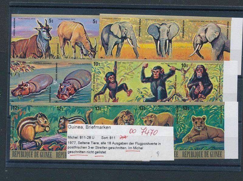 Wildtiere  -Guinea  811-28  U   **    (oo7469  ) siehe scan