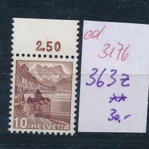 Schweiz Nr. 363  z   **   (ed3176  ) siehe scan