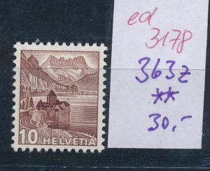 Schweiz Nr. 363  z   **   (ed3178  ) siehe scan