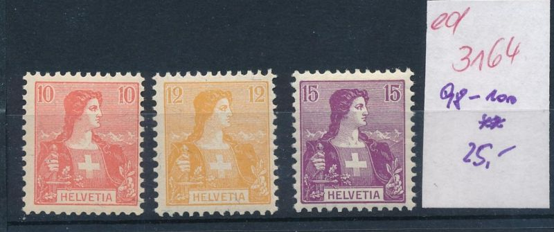Schweiz Nr. 98-100   **   (ed3164  ) siehe scan