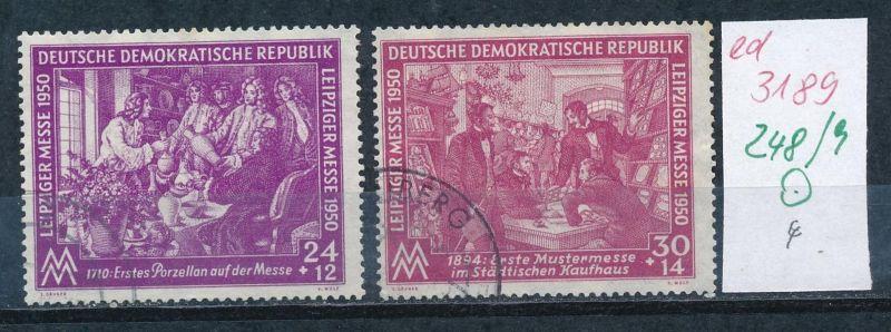 DDR  Nr. 248-9  o    (ed3189  ) siehe scan