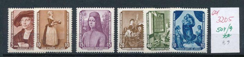 DDR Nr. 504-9  **   (ed3205  ) siehe scan