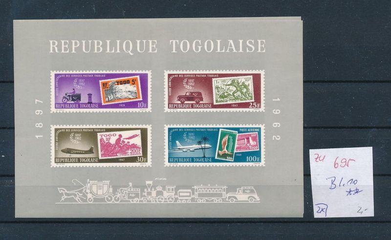 Togo Block 10  **  (zu695  ) siehe scan