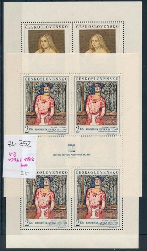Tschechen KB. 1796+1802  **  (zu752   ) siehe scan