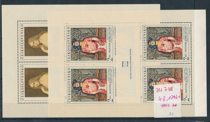Tschechen KB. 1796+1802  **  (zu748   ) siehe scan