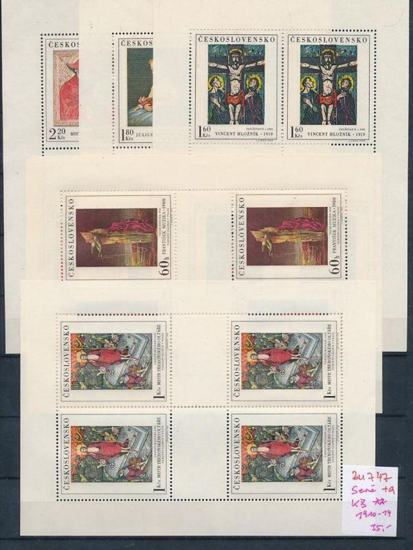 Tschechen KB. 1910-14   **  (zu747   ) siehe scan