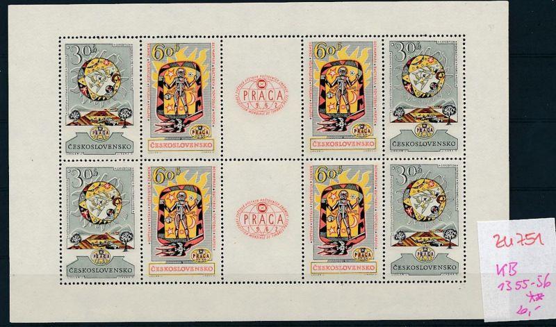 Tschechen KB. 1355-56  **  (zu751   ) siehe scan