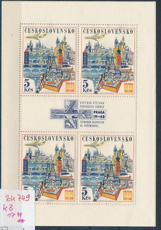 Tschechen KB  1744  **  (zu749   ) siehe scan