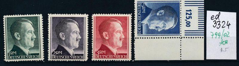 D.-Reich Nr. 799-02 **     (ed3324  ) siehe scan