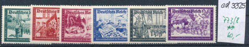 D.-Reich Nr. 773-8 **     (ed3325  ) siehe scan