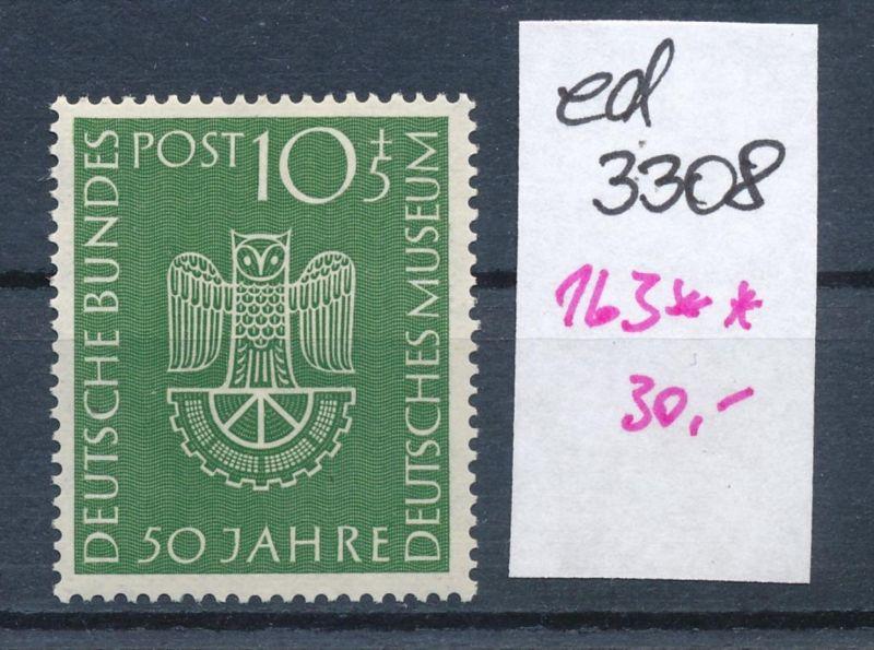 BRD Nr. 163  **    (ed3308  ) siehe scan
