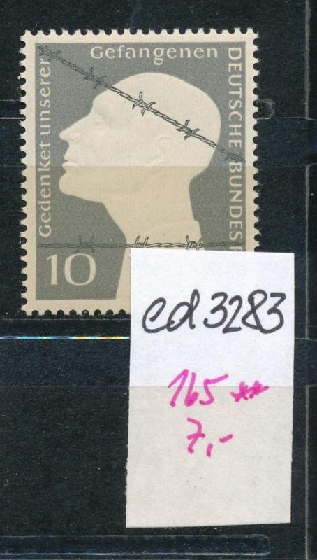 BRD Nr. 165   **    (ed3283  ) siehe scan