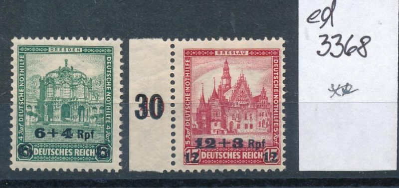 D.-Reich Nr. 463-4   **    (ed3368  ) siehe scan