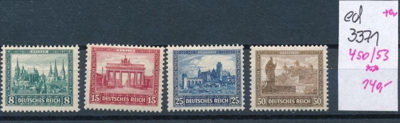 D.-Reich Nr. 450-3    **    (ed3371  ) siehe scan