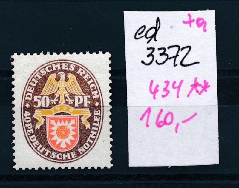D.-Reich Nr. 434    **    (ed3372  ) siehe scan