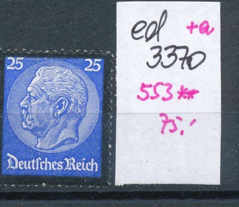 D.-Reich Nr. 553     **    (ed3370  ) siehe scan