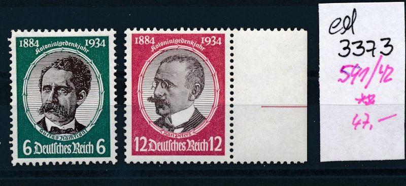 D.-Reich Nr. 541-2      **    (ed3373  ) siehe scan