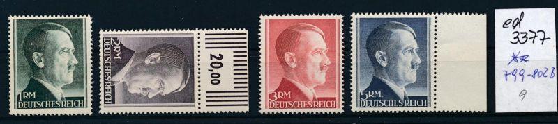 D.-Reich Nr. 799-802      **    (ed3377  ) siehe scan
