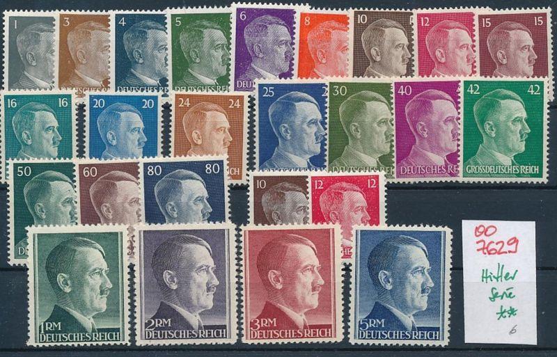 Hitler Serie    **    (oo7629 ) siehe scan
