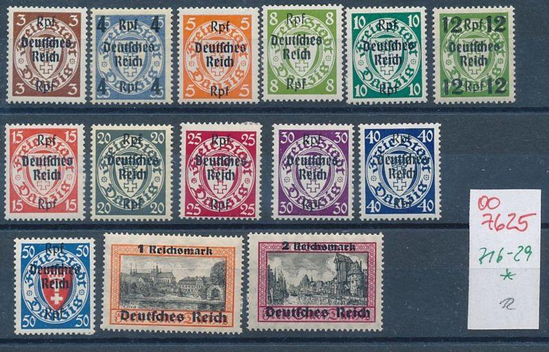 D.-Reich Nr 716-29      (oo7625 ) siehe scan