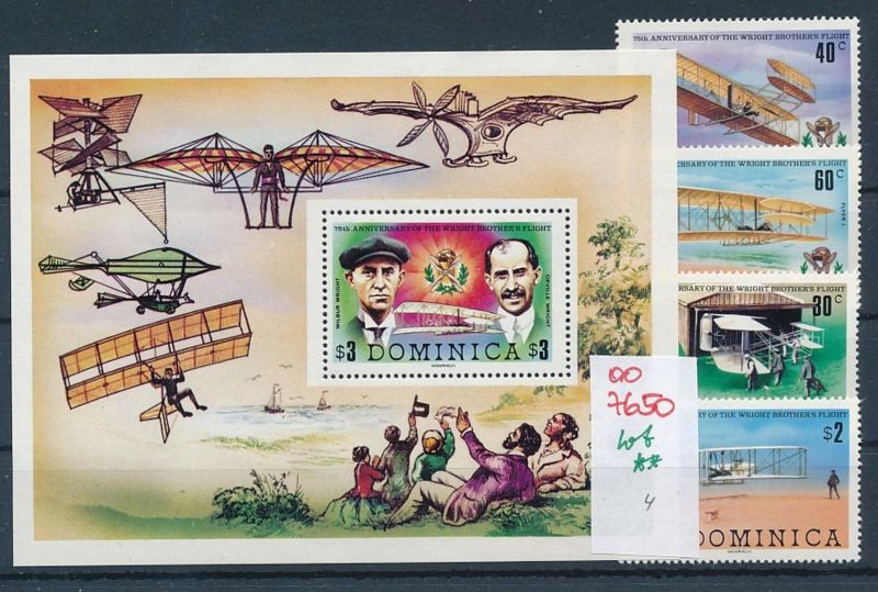 Flugzeuge -Dominica -Lot **    (oo7650  ) siehe scan