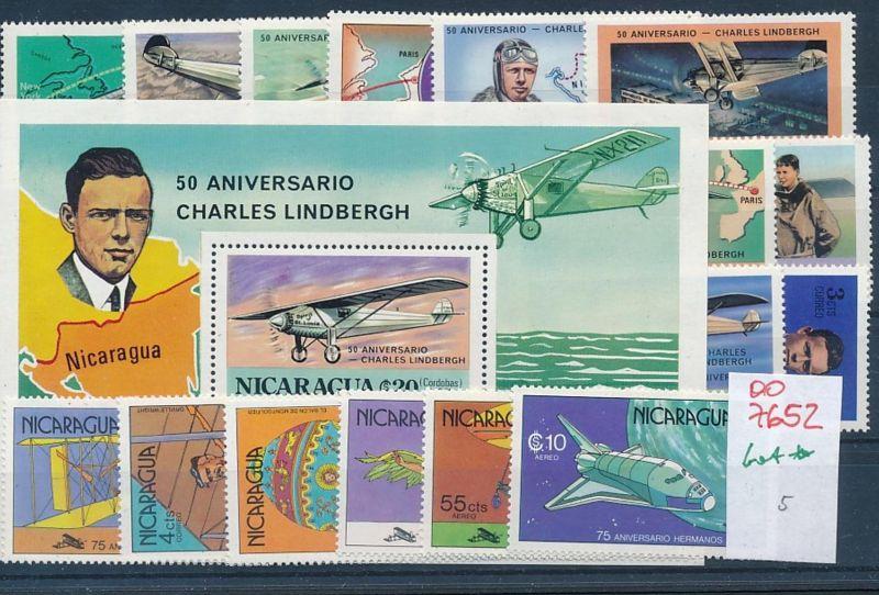 Flugzeuge -Nicaragua  -Lot **    (oo7652  ) siehe scan