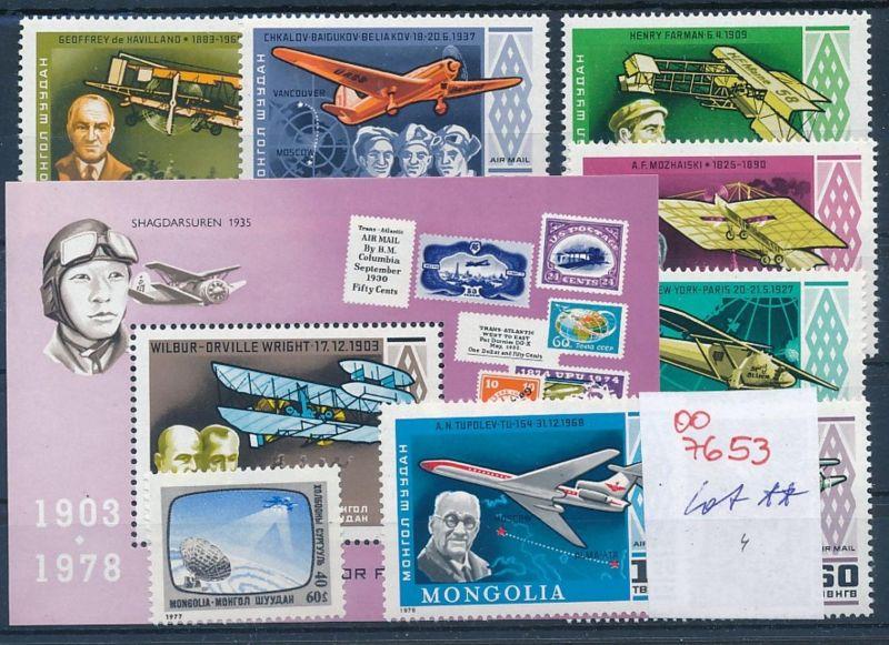 Flugzeuge -Mongolei  -Lot **    (oo7653  ) siehe scan