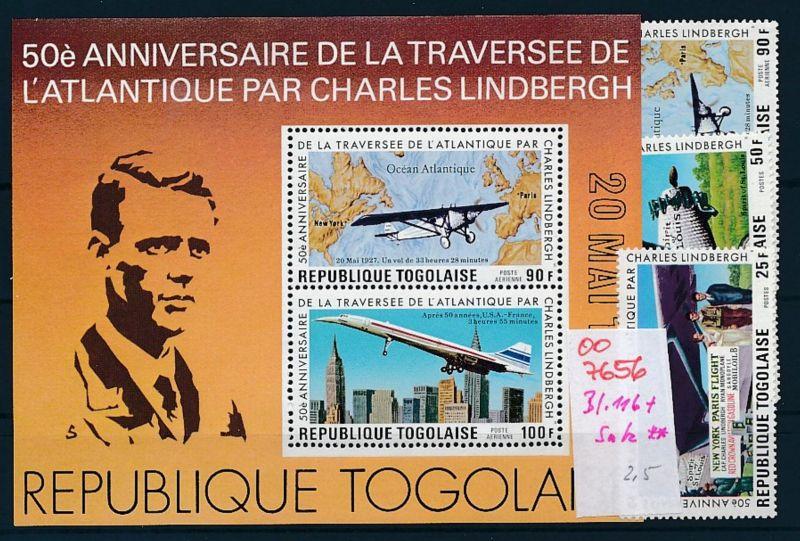 Flugzeuge -Togo -Lot **    (oo7656  ) siehe scan