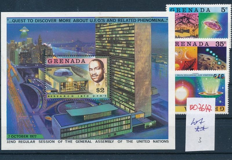 Weltraum  - Grenada  -Lot **    (oo7647  ) siehe scan