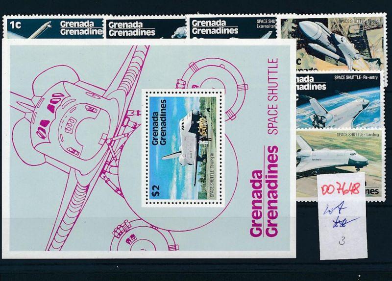 Weltraum  - Grenada  -Lot **    (oo7648  ) siehe scan