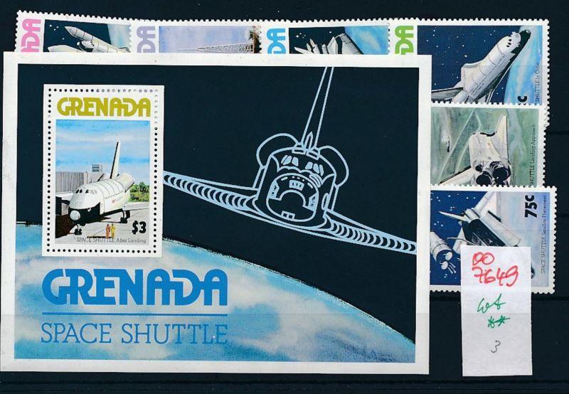 Weltraum  - Grenada  -Lot **    (oo7649  ) siehe scan