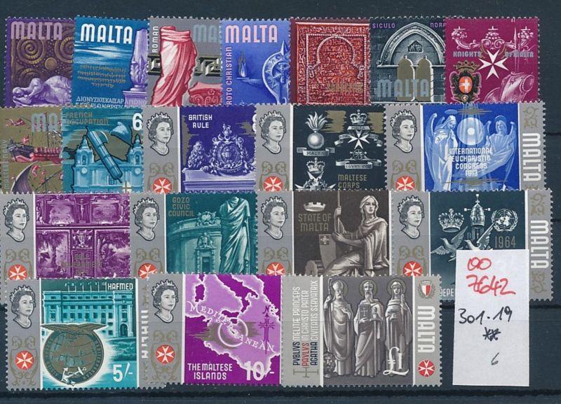 Malta nettes  -Lot **    (oo7642  ) siehe scan