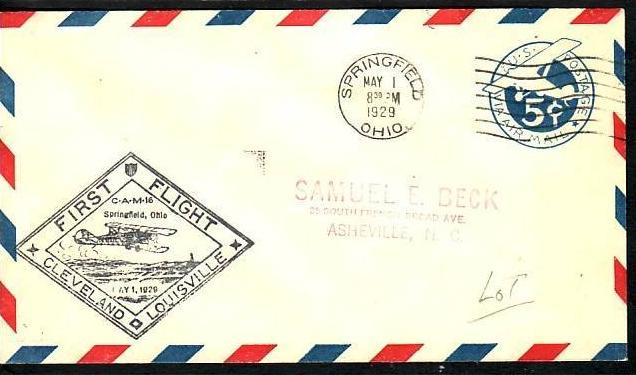 USA Luftpost Brief   1929  ( ba6993  ) siehe scan  !!