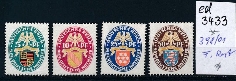 D.-Reich Nr. 398-01  *   (ed3433  ) siehe scan