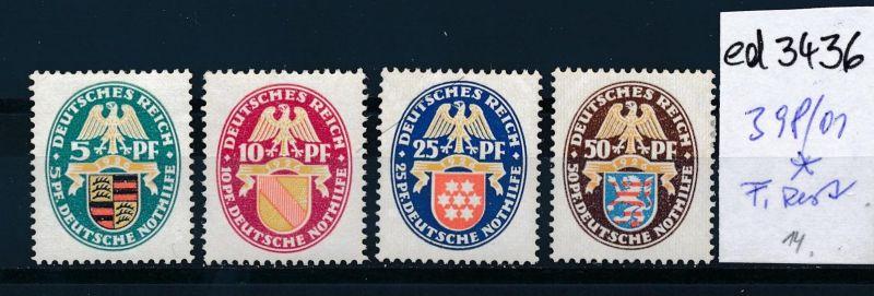 D.-Reich Nr. 398-01  *   (ed3436  ) siehe scan