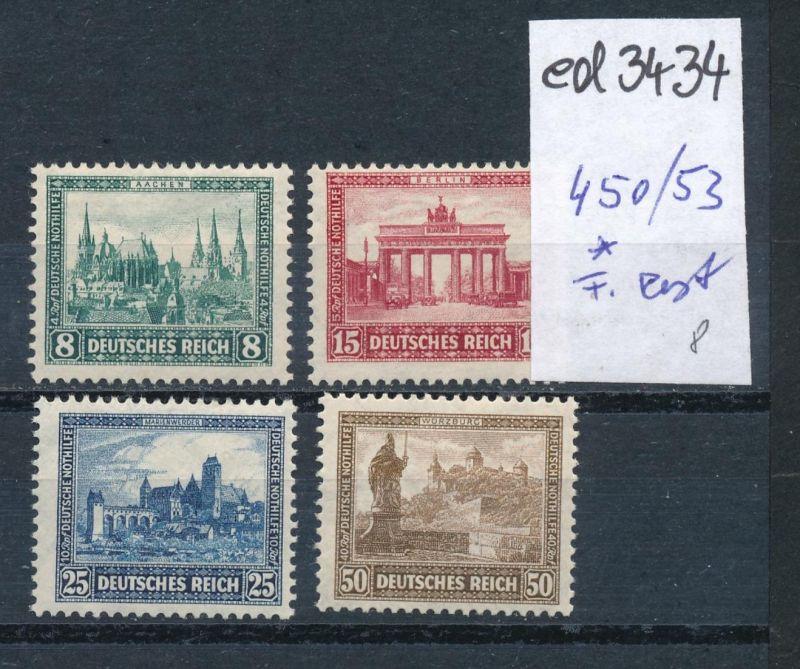 D.-Reich Nr. 450-53   *   (ed3434  ) siehe scan